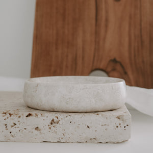 stone trinket or soap dish