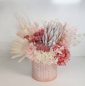 Medium think pink arrangement