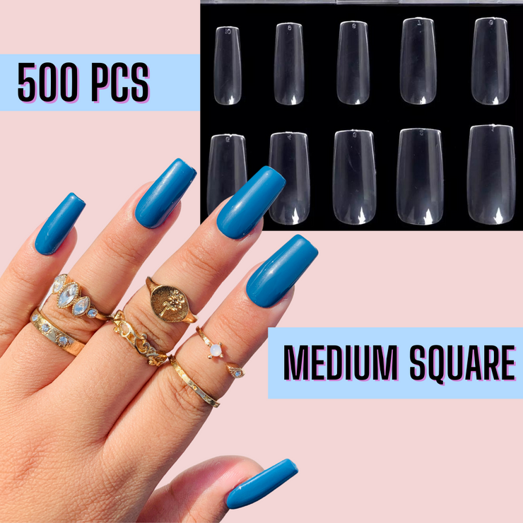 Medium Square Nail Tips