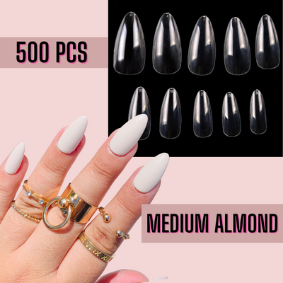Medium Almond Nail Tips