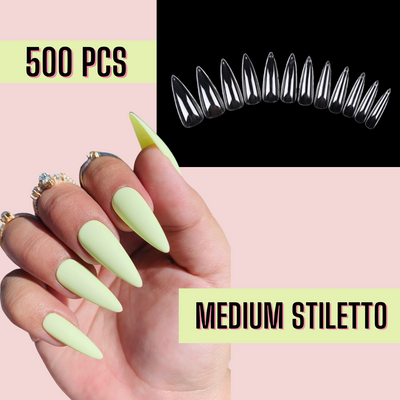 Medium Stiletto Nail Tips