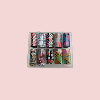 Abstract 2 Nail Foils