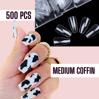Medium Coffin Nail Tips
