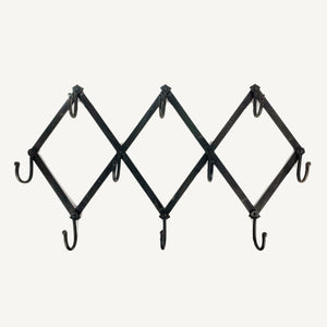Accordion Wall Hooks in Iron