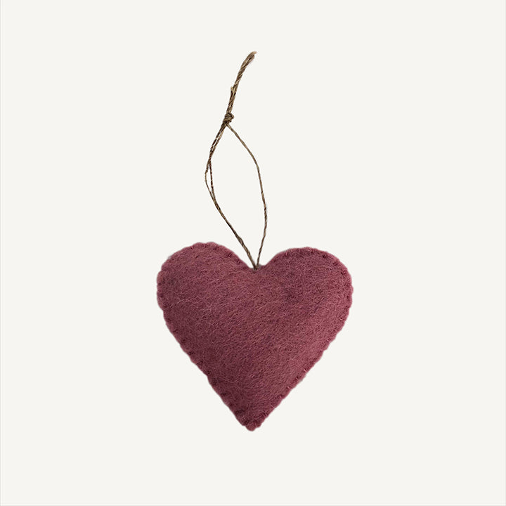 Felt Heart (More Colors)