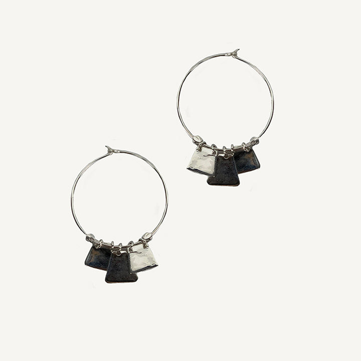 Page Hoop Earrings (More Colors)