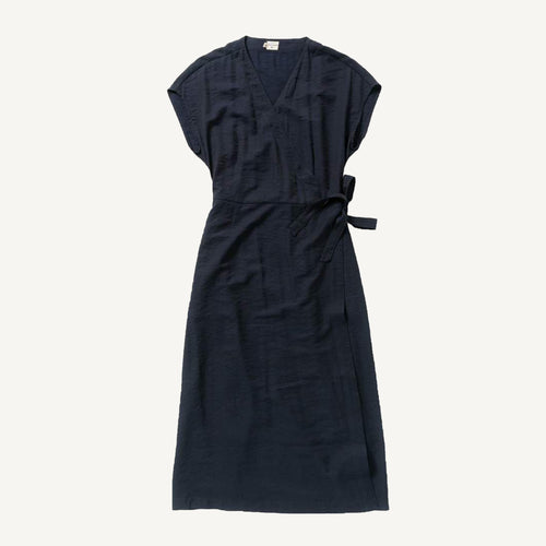 Saria Dress in Navy