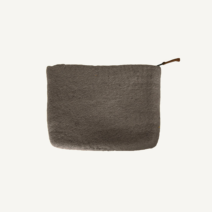 Wool Zipper Pouch (More Colors)