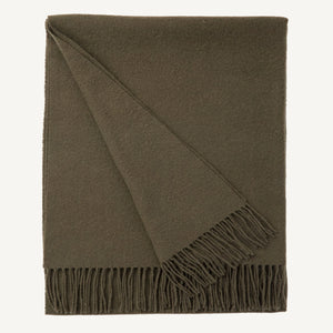 Wool Scarf Olive