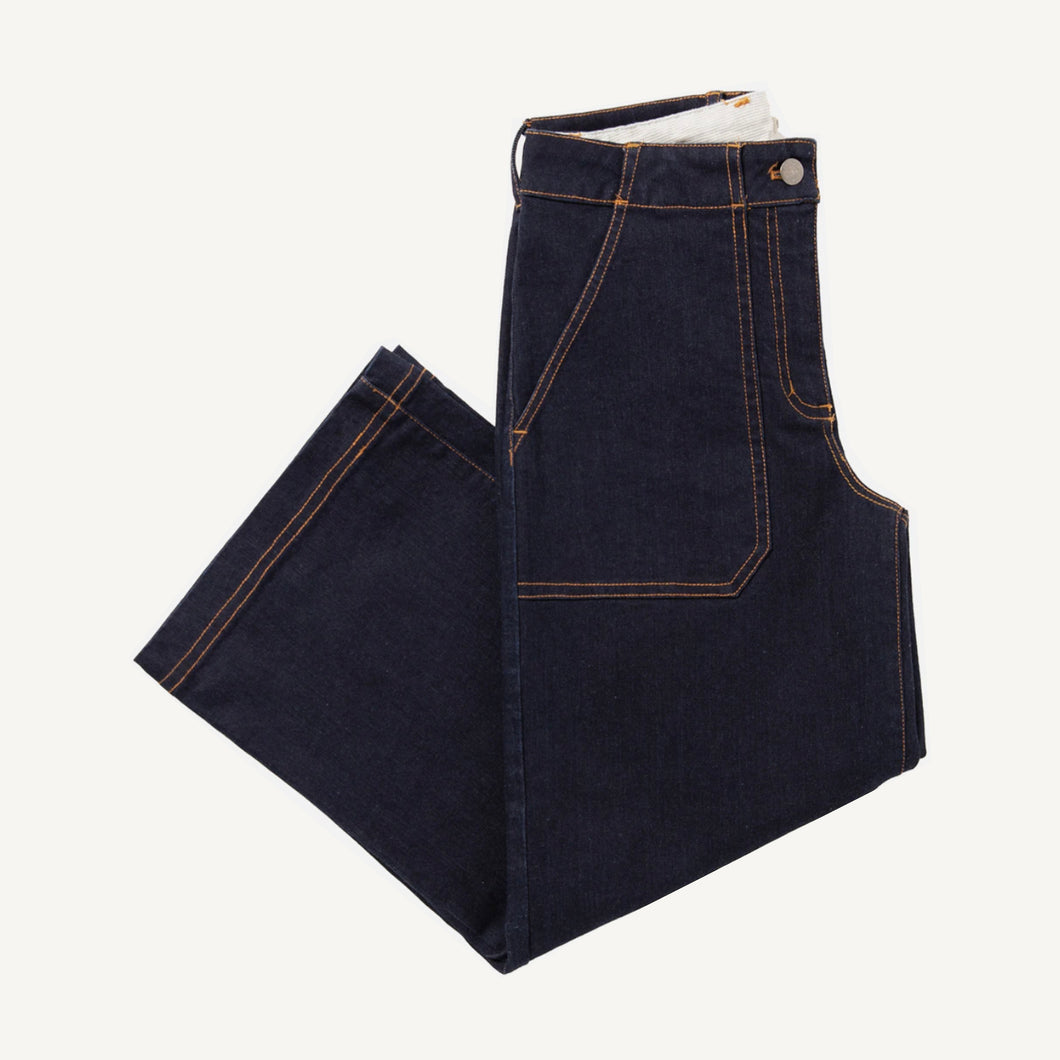 Gladstone Pants in Dark Denim