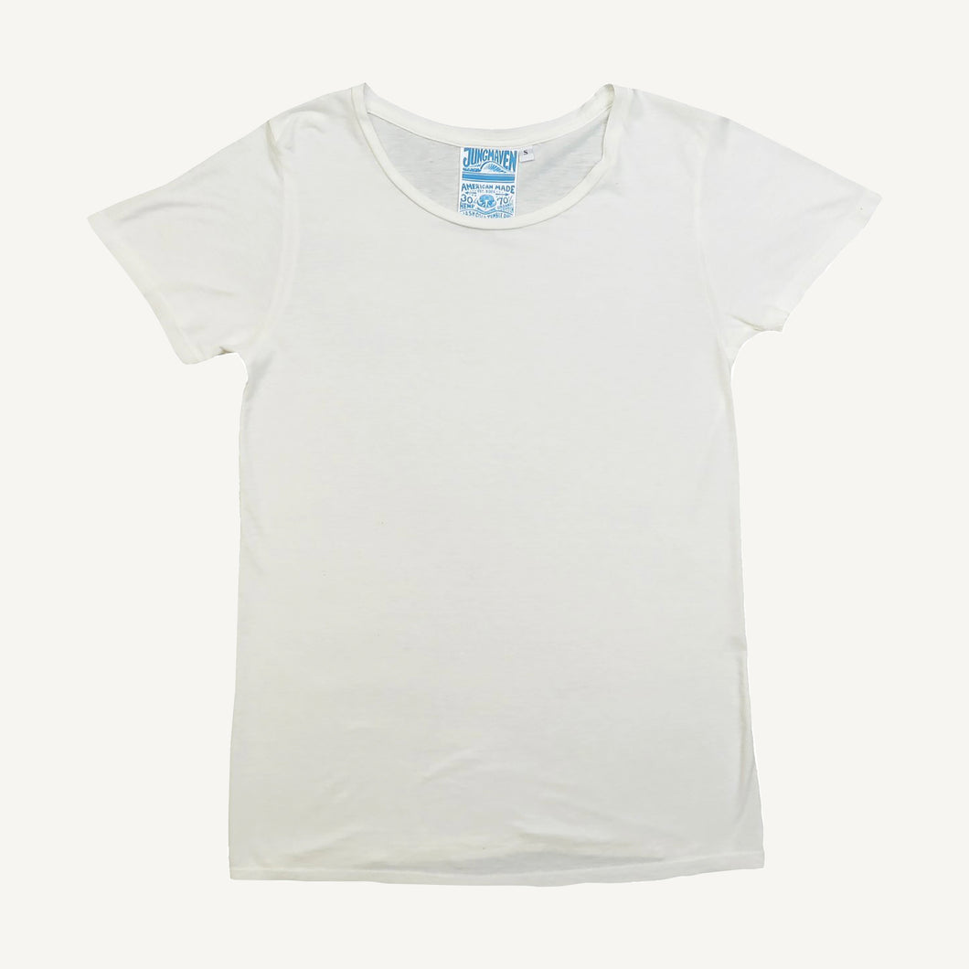 Ojai Tee in Washed White