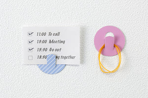 Circle Hook Stickers 6 Sheets