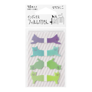Sticky Notes Midori Animals-Cats 48 pieces 19023-006