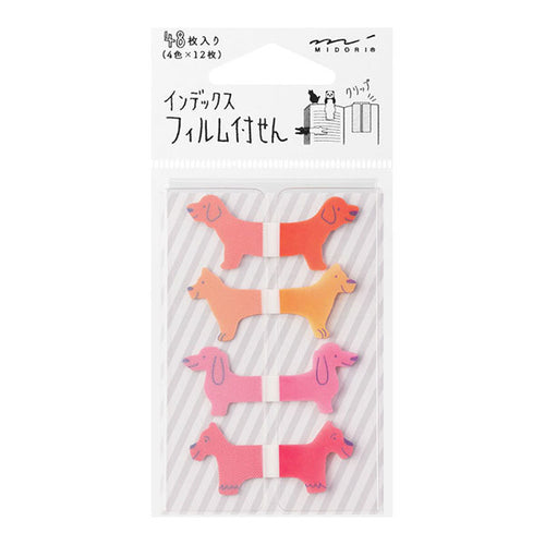 Sticky Notes Midori Animals-Dogs 48 pieces 19024-006
