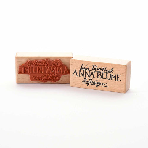 Anna Blume Rubber Stamp- Heindesign