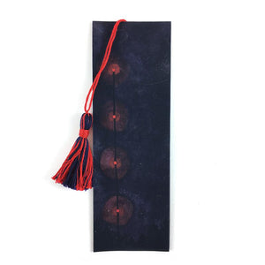 Red Night Lights - Watercolor Sky Bookmark