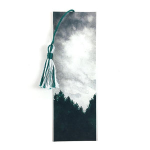 Overcast Sky - Watercolor Bookmark