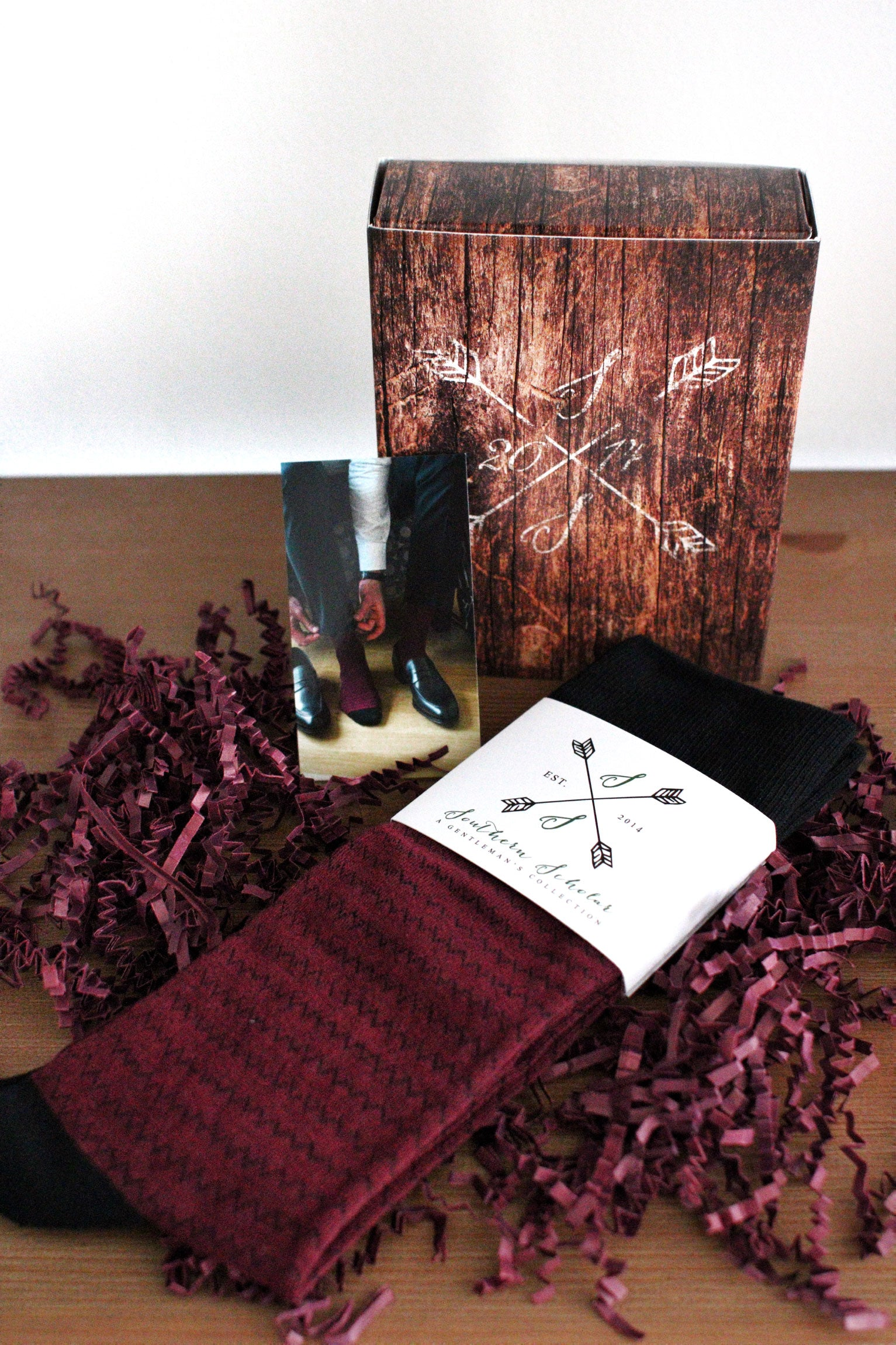 Men's Sock Gift Box