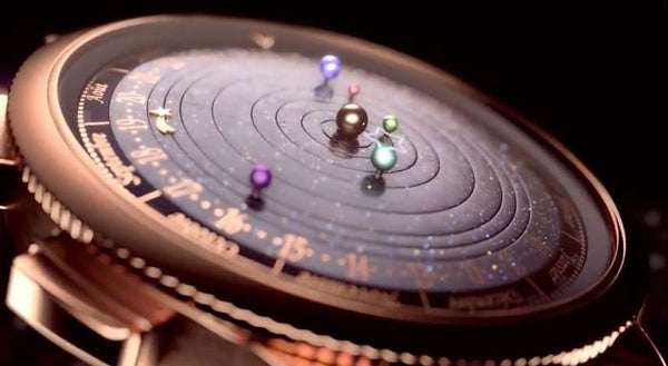 Astronomical Watch Shows Our Solar System Orbiting the Sun