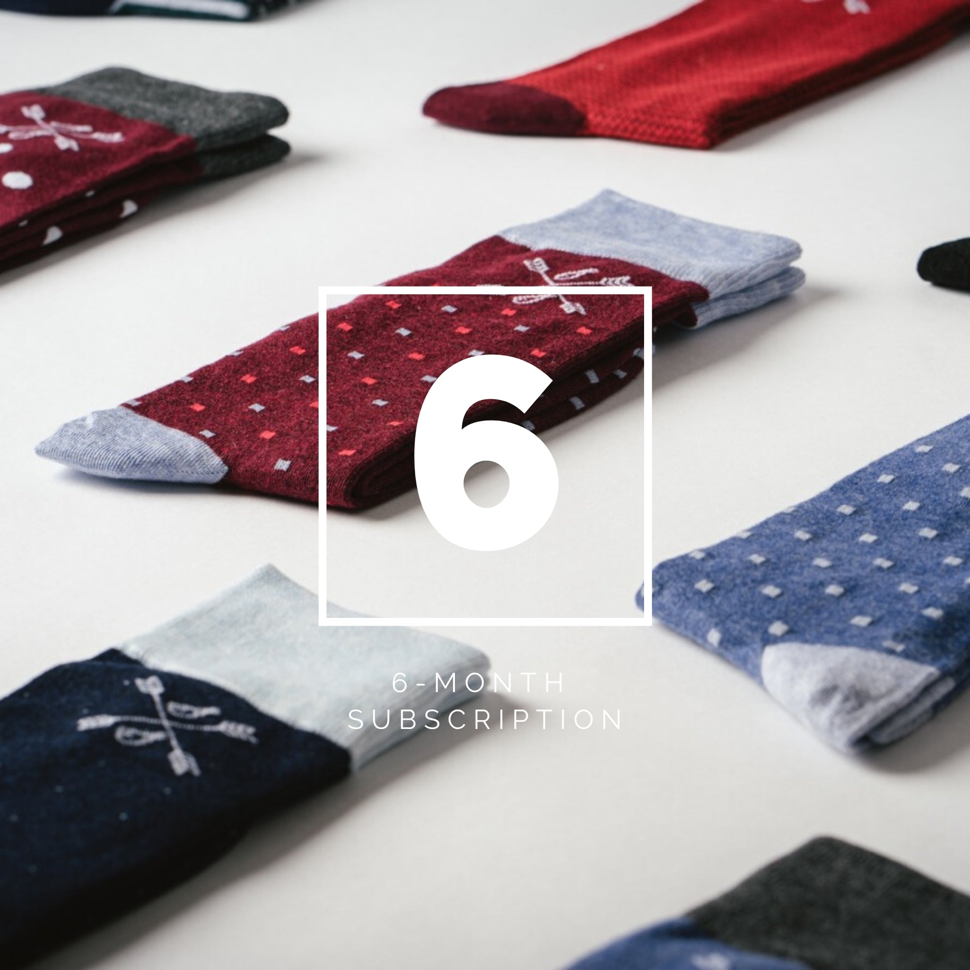 Dress Sock Subscription Box for Men