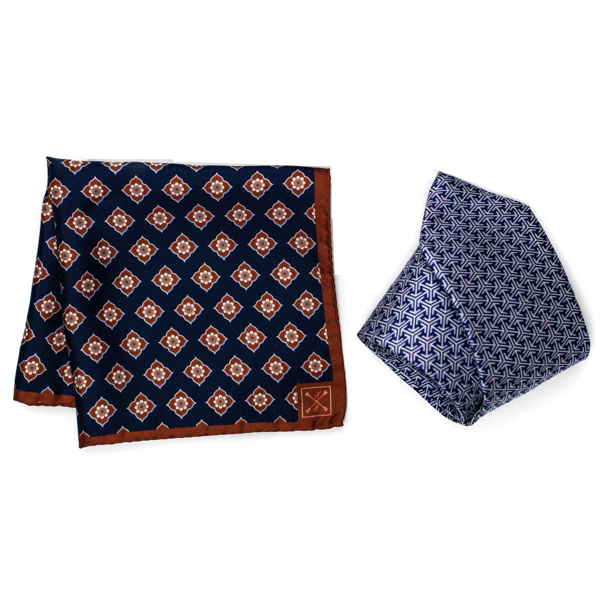 Italian Silk Tie and Pocket Square