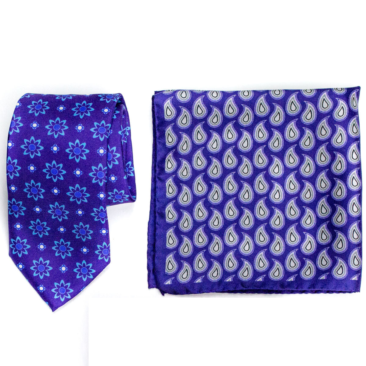 Matching tie and pocket square