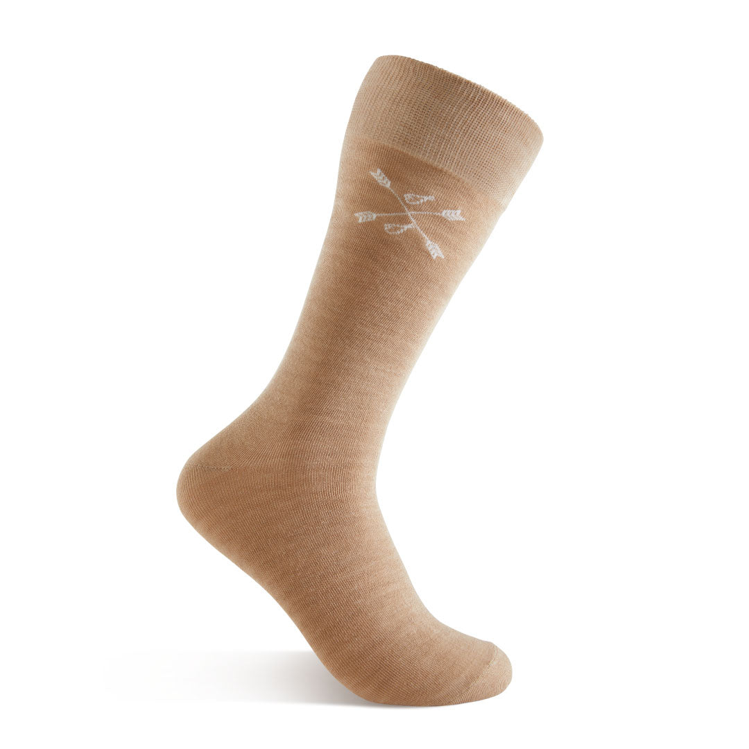 Oatmeal Solid - An Oatmeal Sock | NMP