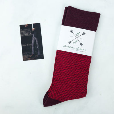 Red men's socks