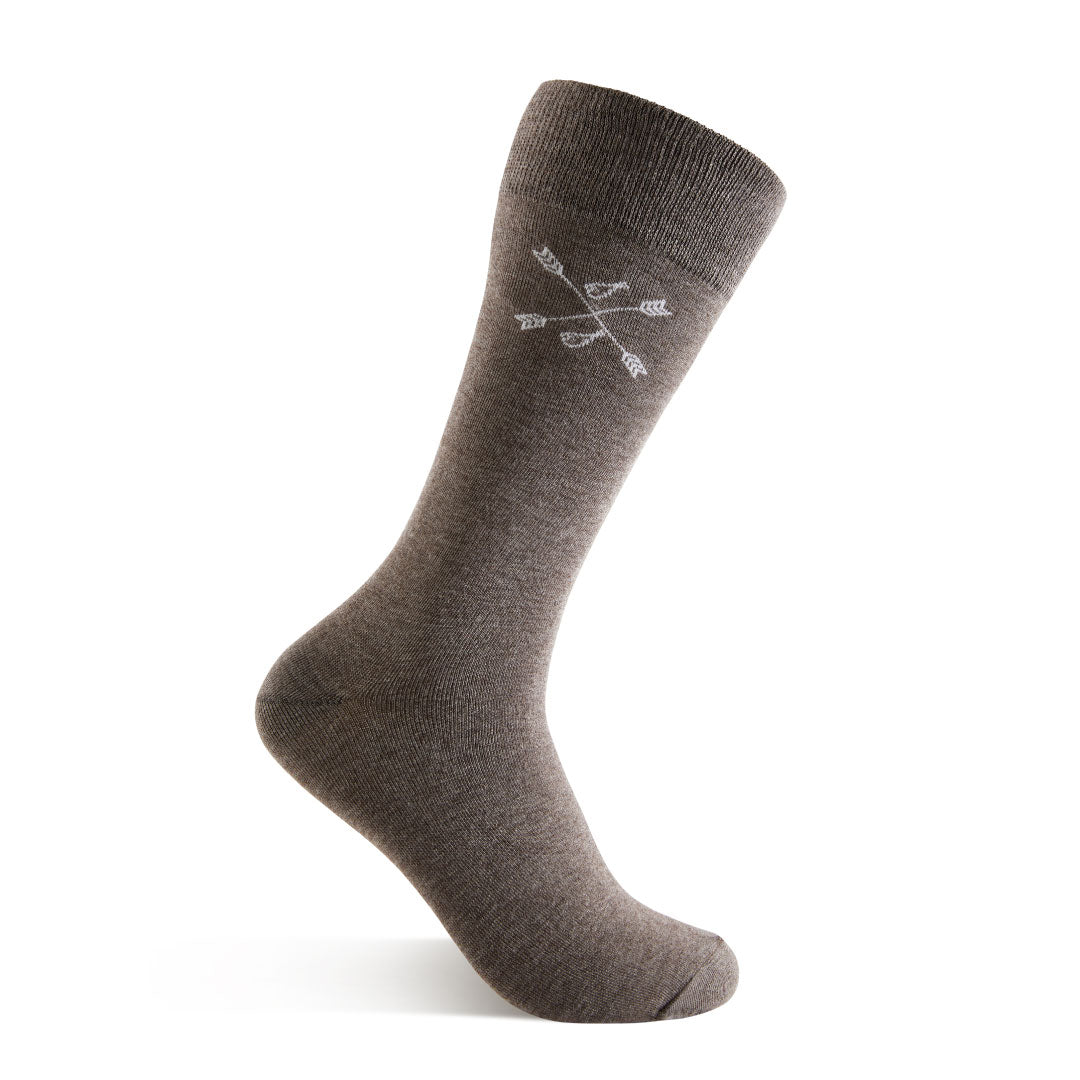 Steel Gray Solid - A Steel Gray Sock | NMP