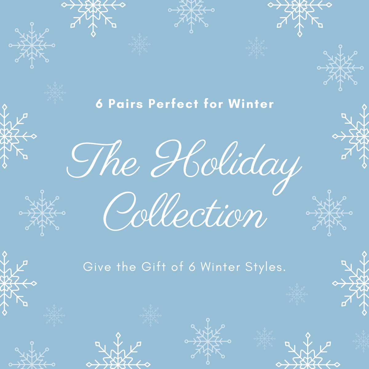 Holiday 6-Pack | A Pair for Every Winter Occasion | NMP