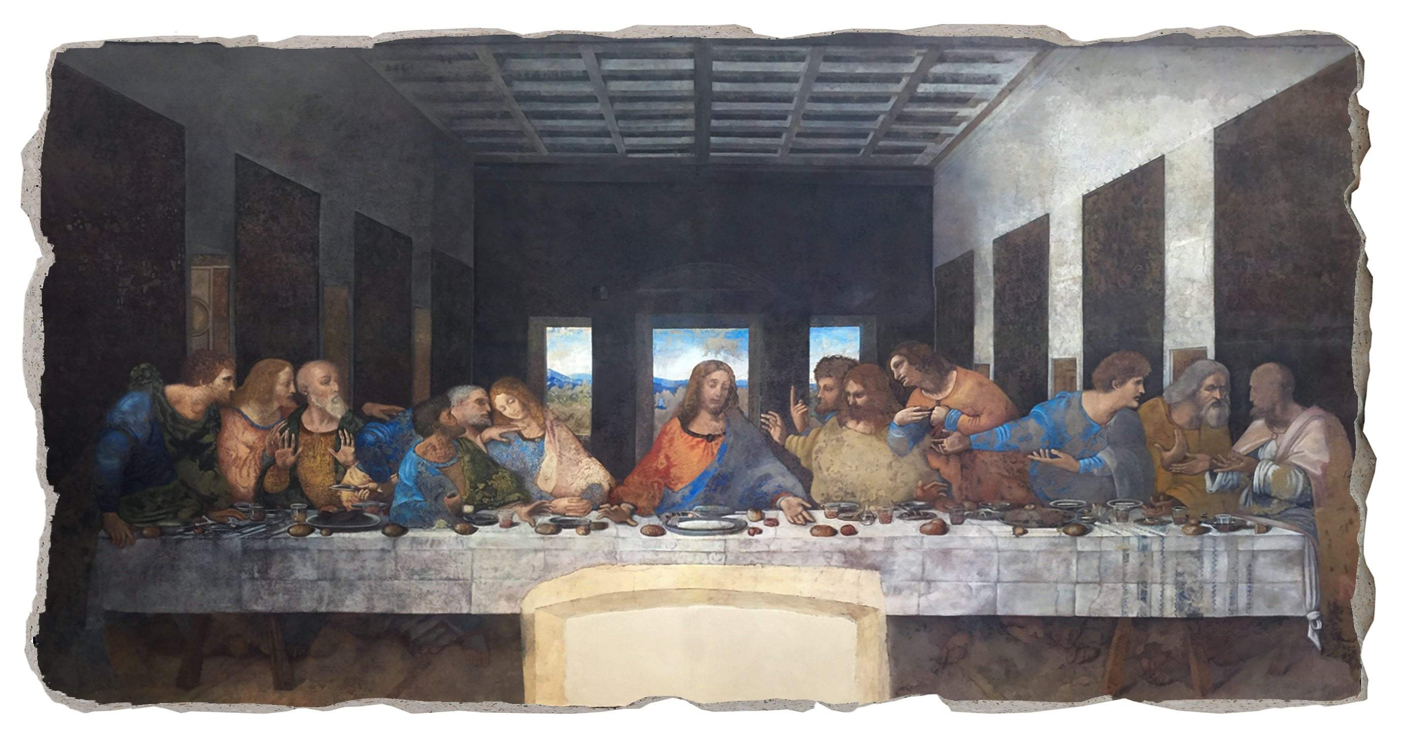 Site Navigation Leonardo Da Vinci Experience Roma Home Museum Tickets Contacts Souvenirs Search Cart Cart Your Cart Close Cart Ultima Cena The Last Supper Leonardo Da Vinci Experience Roma The Last Supper Regular Price Sale Price 35