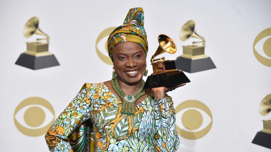 Angelique Kidjo bags the grammy for the 4th time.