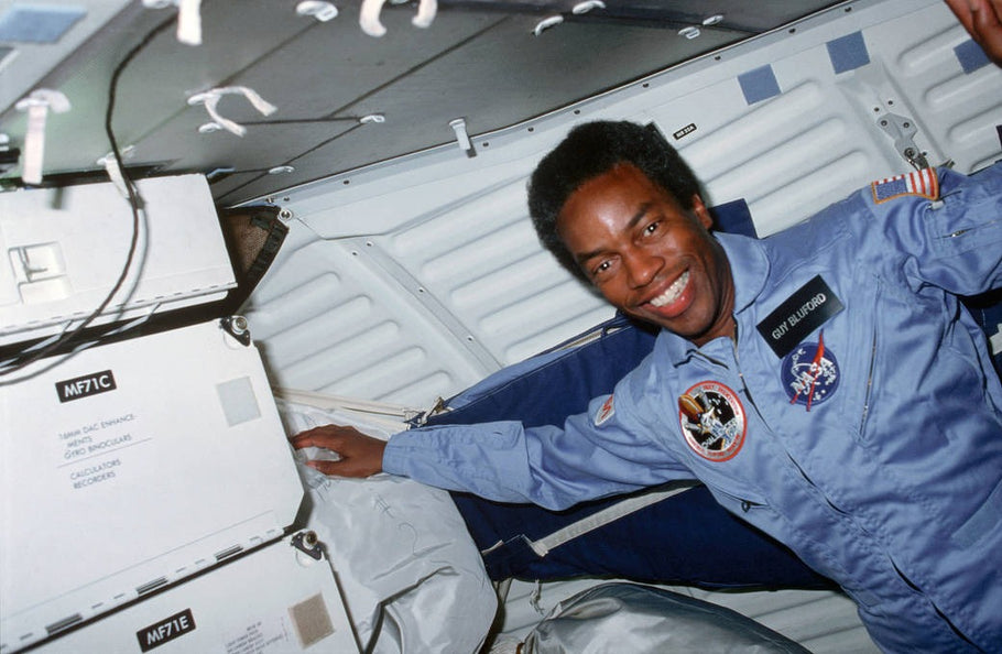 Guy Bluford, the first African-American astronaut