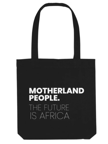 MotherLand People Future Is Africa Tote Bag