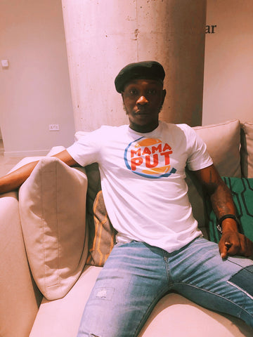 Seun Kuti in Mama Put T-shirt by CoolAfricanMerch