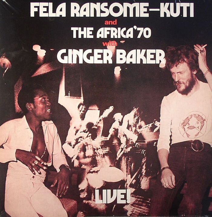 Fela Kuti and Ginger Baker Live
