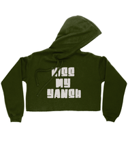 Load image into Gallery viewer, Kiss My Yansh Cropped Hoodie