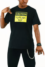 Load image into Gallery viewer, YorubaBoy Caution T-Shirt