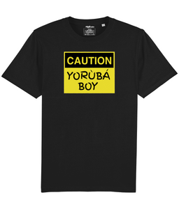 YorubaBoy Caution T-Shirt