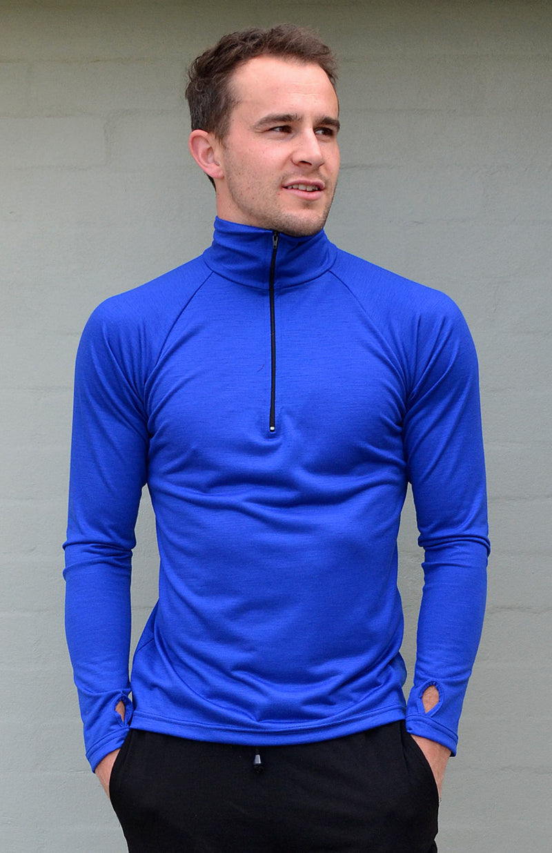 Zip Neck Lightweight 170g Top