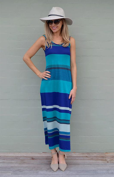 Blue Multi Stripe