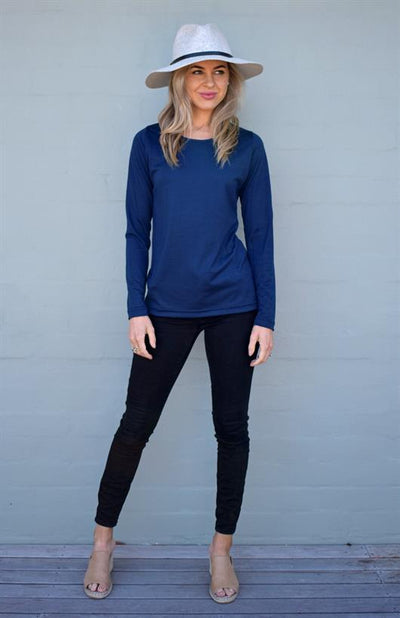 Round Neck Plain Top