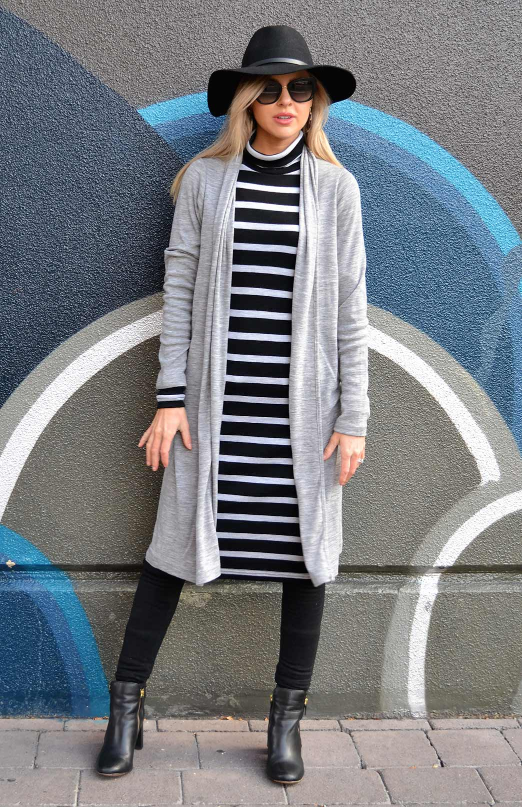Long (Heavyweight) Drape Cardigan