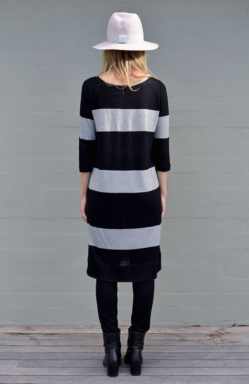 Black Armani Stripe