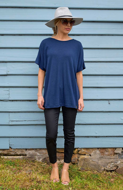 Loose T-Shirt - Merino Wool