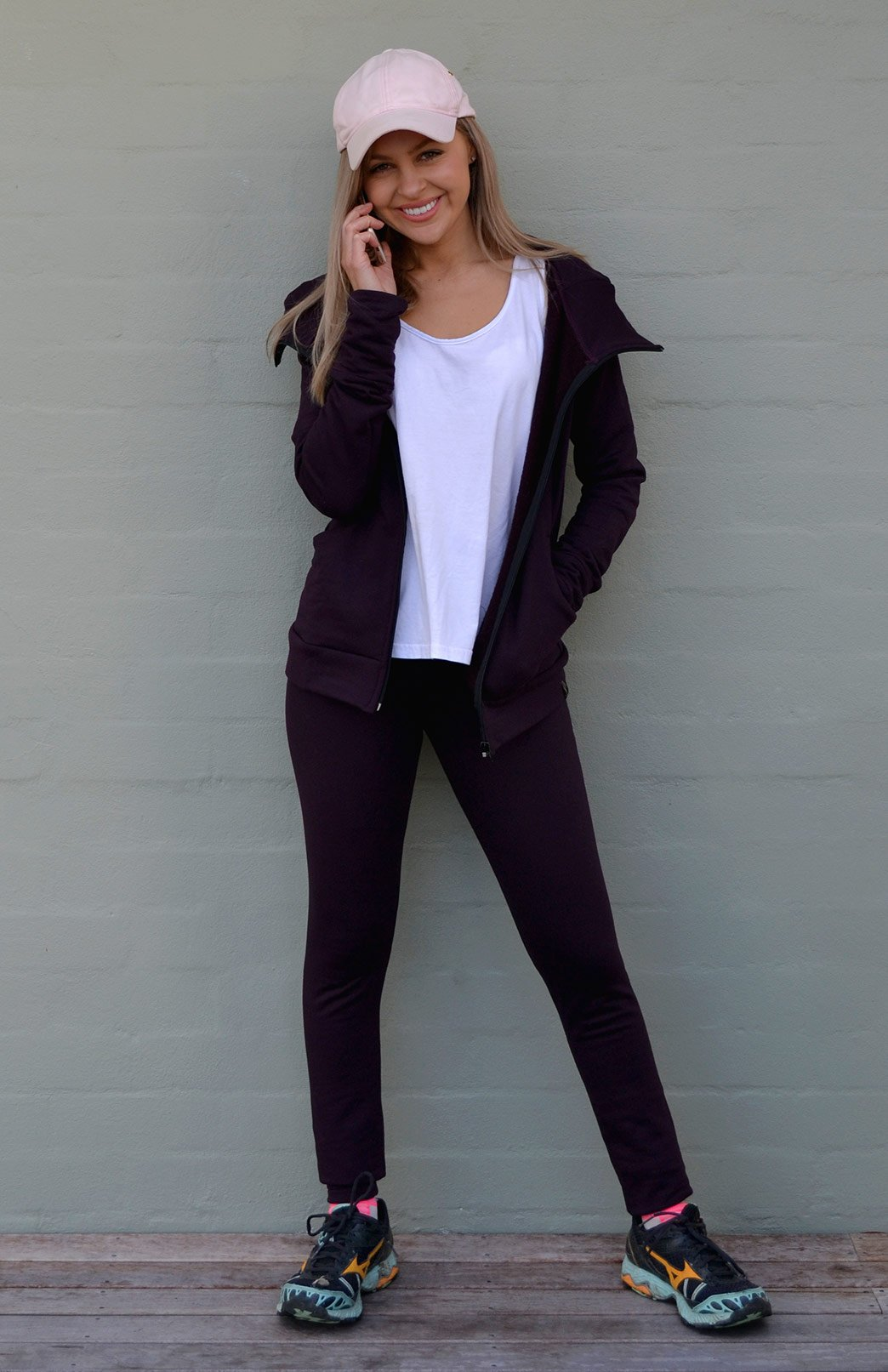 High Waisted Leggings - Fleece 270gsm