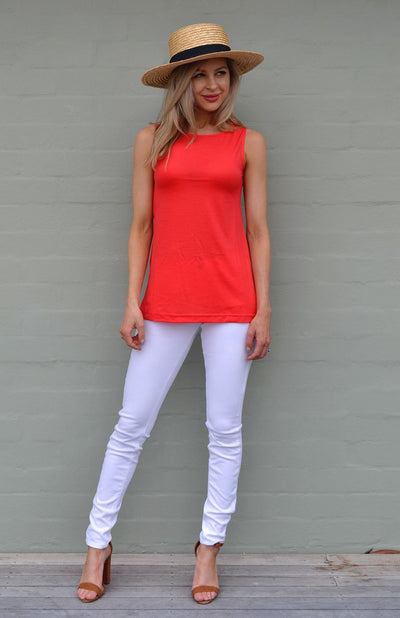 Capri Top - Organic Cotton