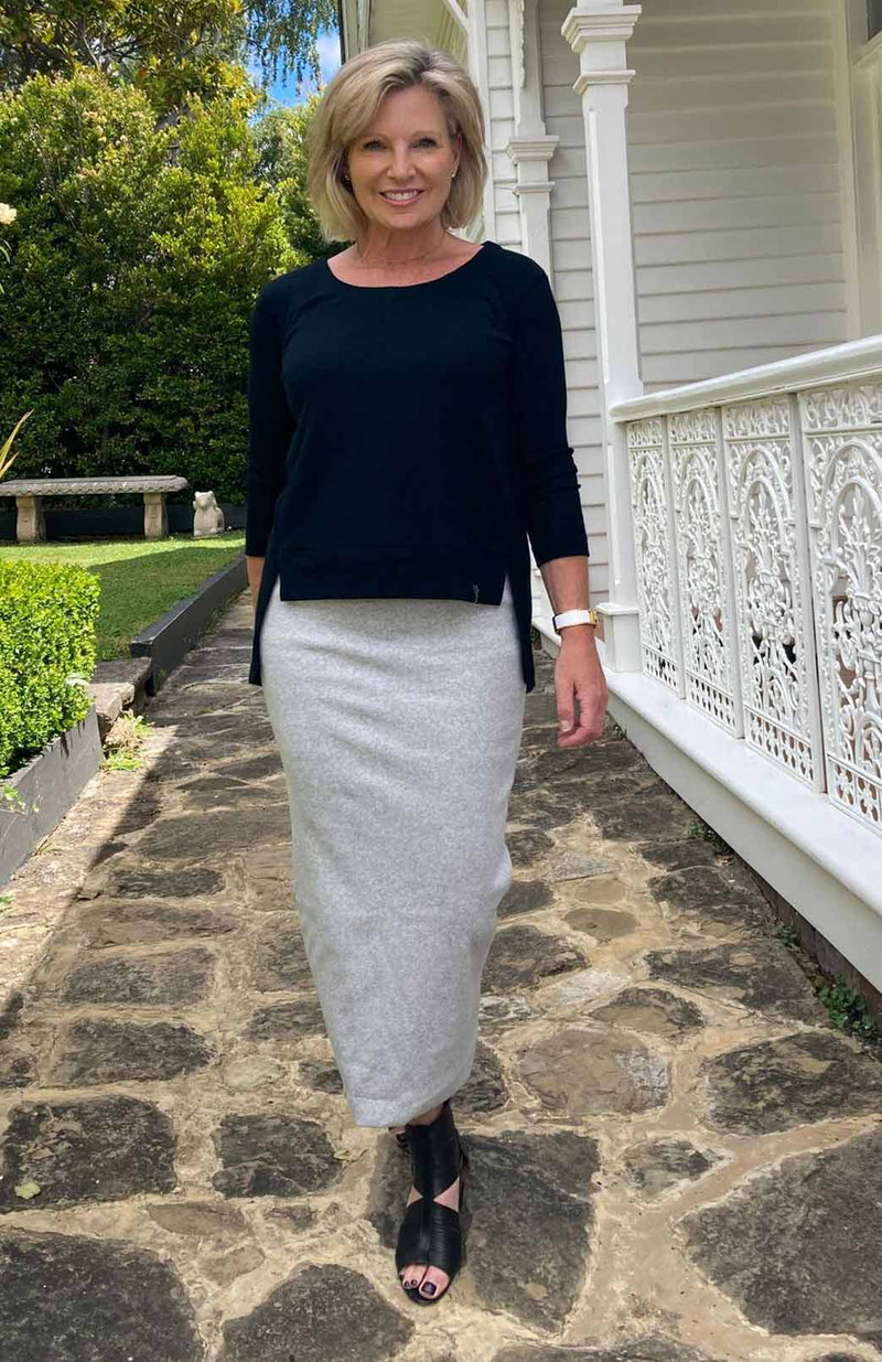 Long Tube Skirt - Organic Cotton