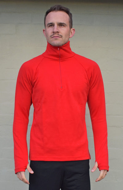 Zip Neck Heavyweight 360g Top