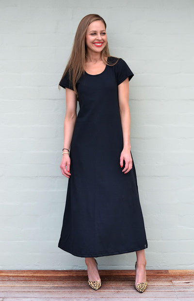 T-Shirt Maxi Dress - Organic Cotton